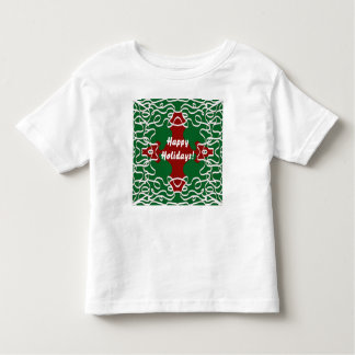 Christmas Lace Pattern Toddler T-shirt