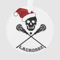 Christmas Lacrosse Sticks Ornament