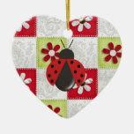 Christmas Ladybug Christmas Ornaments
