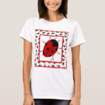Christmas Ladybug  in July T-Shirt