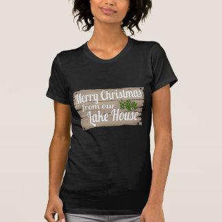 christmas lake house T-Shirt