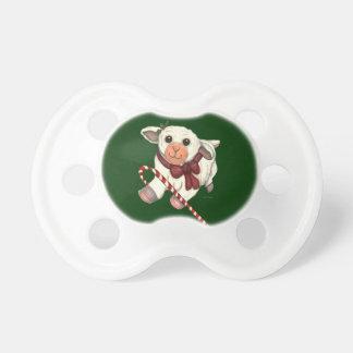 Christmas Lamb Pacifier