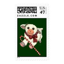 Christmas Lamb Stamps