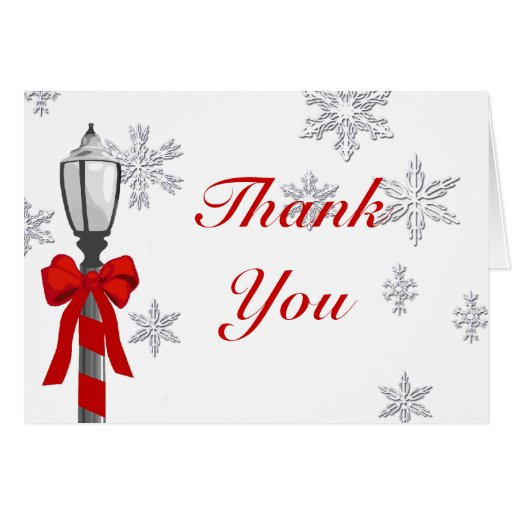 Chistmas Thank You Cards | New Calendar Template Site