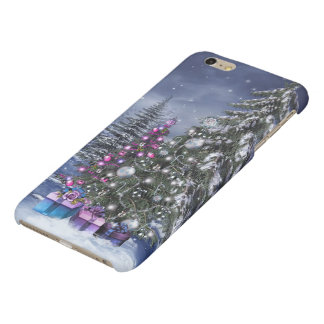 Christmas Landscape Matte iPhone 6 Plus Case