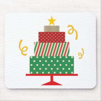 Christmas Layer Cake Mouse Pad