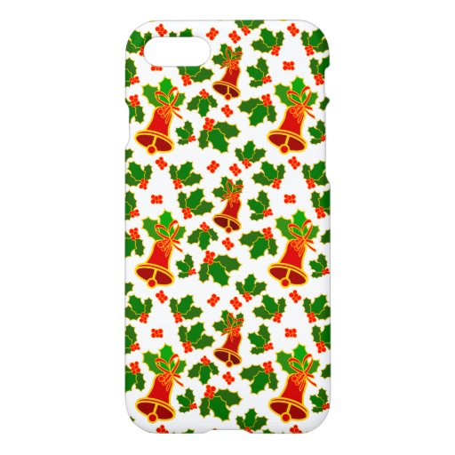 Christmas Leafs And Bells iPhone 8/7 Case