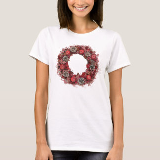 Christmas lease pink T-Shirt