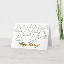 Christmas Legal Scales Tree Farm Card