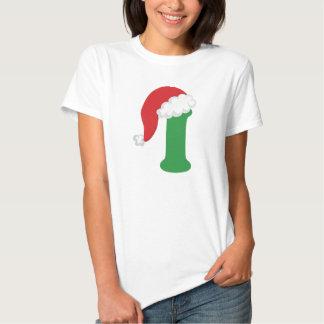 Christmas Letter I Alphabet T-shirt