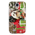 Christmas - Lhasa Apso - Clover and Pixie Samsung Galaxy S4 Case
