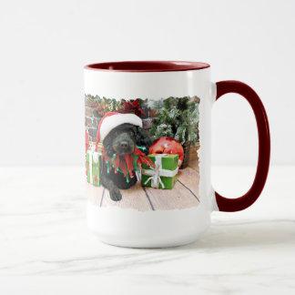 Christmas - LhasaPoo - Buddy Mug