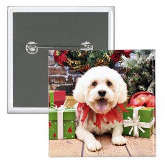 Christmas - LhasaPoo - Marley Pins