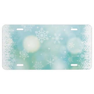 Christmas License Plate