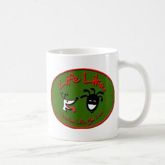 """Christmas """"Life Like Stuff"""" Brand Logo Coffee Mug"""