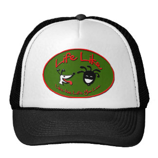 "Christmas ""Life Like Stuff"" Brand Logo Trucker Hat"