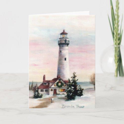 Christmas Light Blank Card