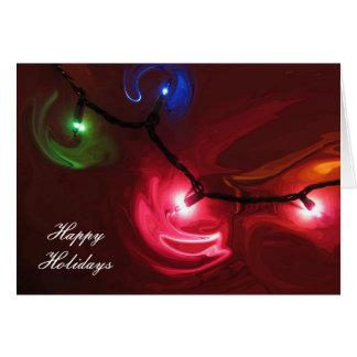 Christmas Light Card
