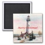 Christmas Light Christmas Magnet