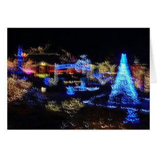 Christmas Light Display Card