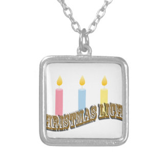 Christmas Light. Personalized Necklace