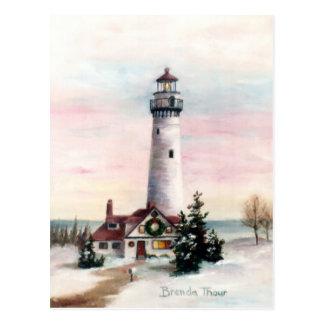 Christmas Light Postcard