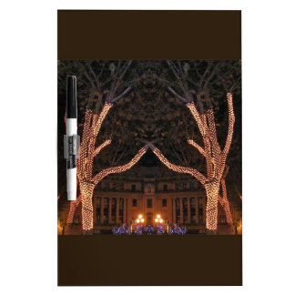 CHRISTMAS LIGHT SHOW DRY ERASE WHITEBOARD