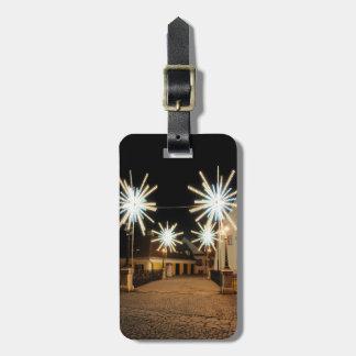 Christmas light Sibiu Tag For Luggage