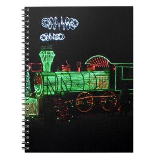 Christmas Light Train Notebook