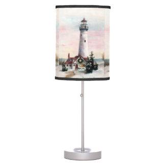 Christmas Lighthouse Desk Lamp