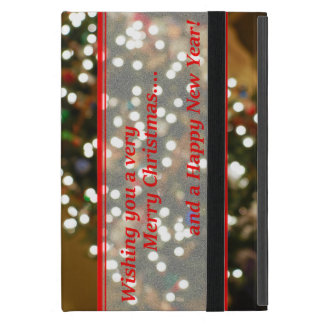 Christmas Lights Abstract Case For iPad Mini