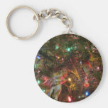 Christmas Lights and Ornaments Keychains