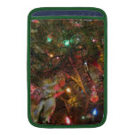 Christmas Lights and Ornaments MacBook Air Sleeves