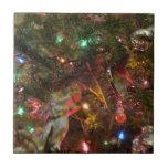 Christmas Lights and Ornaments Tiles