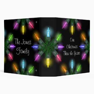 Christmas Lights Binder
