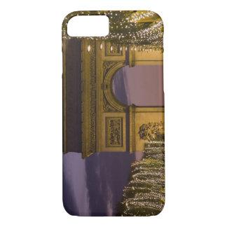 Christmas lights, Champs Elysees, Arc de iPhone 8/7 Case