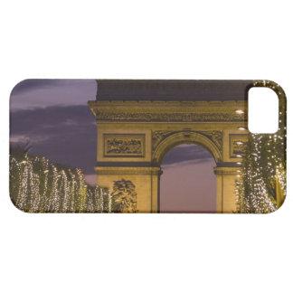 Christmas lights, Champs Elysees, Arc de iPhone SE/5/5s Case