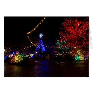 Christmas Lights Galore Card