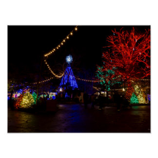 Christmas Lights Galore Poster