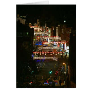 Christmas lights Guildford Card