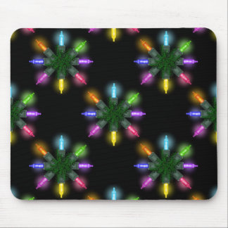 Christmas Lights Holiday Mouse Pad