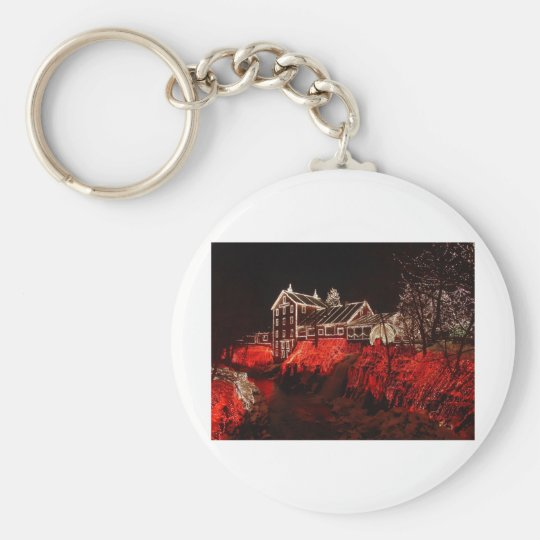 christmas lights keychain