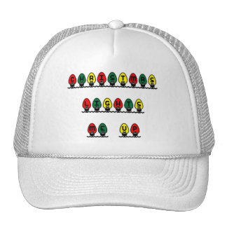 Christmas Lights Me Up Trucker Hats