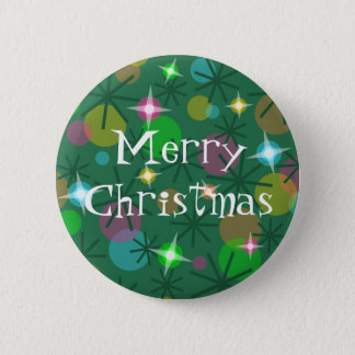 Christmas Lights 'Merry Christmas' button