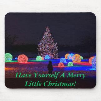 Christmas Lights Mouse Pad
