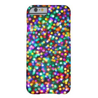 Christmas Lights Pattern Barely There iPhone 6 Case