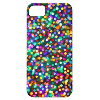 Christmas Lights Pattern iPhone SE/5/5s Case