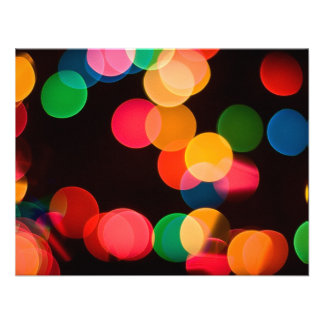 Christmas Lights Personalized Invite