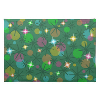 Christmas Lights placemat cloth
