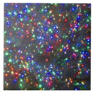Christmas lights, Portland, Oregon Ceramic Tile